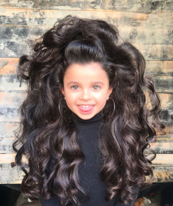 5-Year-Old Instagram Star Has Amazing Hair