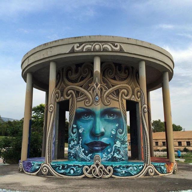 Artist Creates Large Scale Street Art Murals Across Europe
