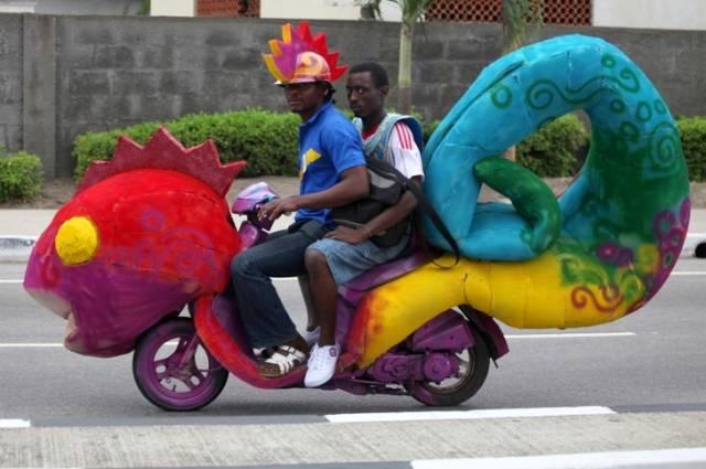 Funny Ways Of Transportation