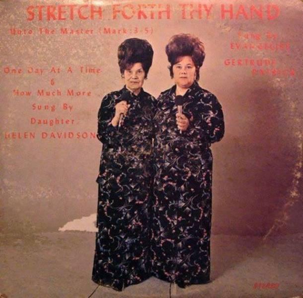Strange Vintage Album Covers