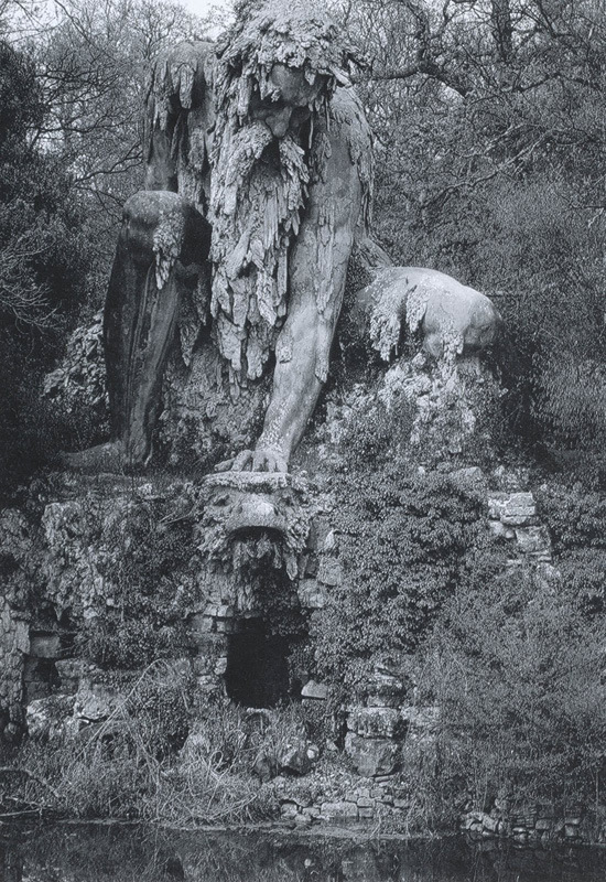 The Appennine Colossus in Tuscany, Italy
