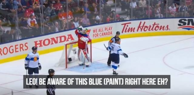 NHL Referees Don't Filter What They Say
