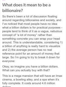 What It Really Means To Be A Billionaire