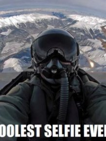 The Coolest Selfie Ever