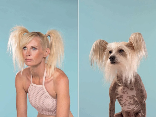 Photographer Puts Dogs And Their Owners Side By Side