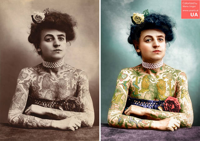 Colorized Historical Photos