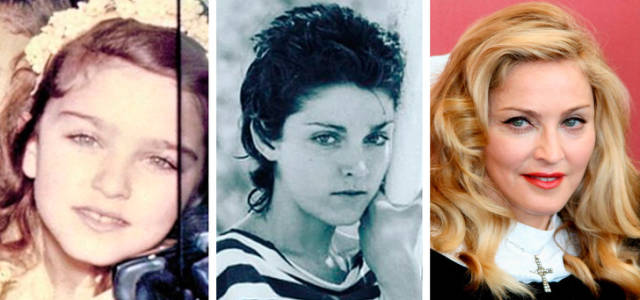 How The Most Beautiful Celebrity Women Changed Since Their Childhood