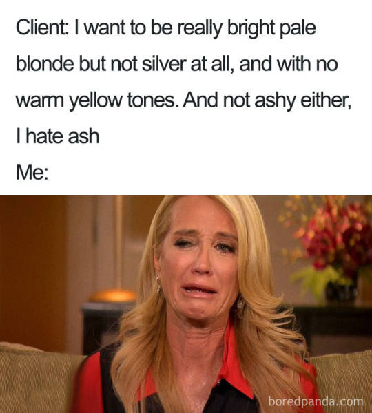 Hairstylist Memes