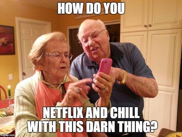 Senior Citizens Vs Technology