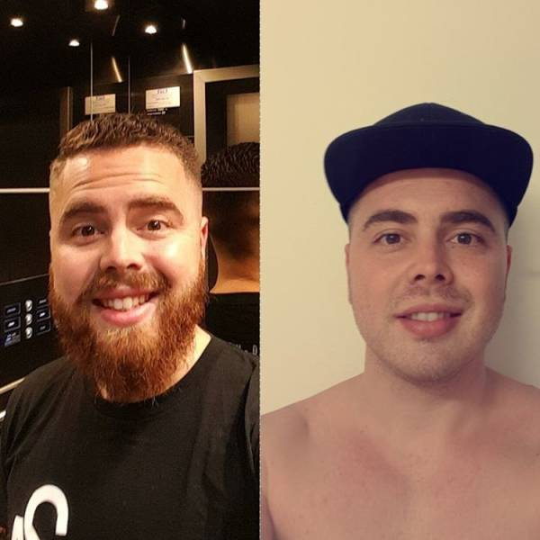 Beard Makes A Difference