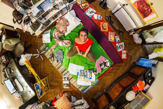 Bedrooms Of  Millenials Around The World