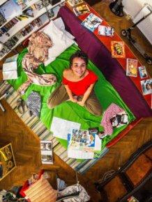 Bedrooms Of  Millenials Around The World
