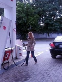 Fun At The Gas Station