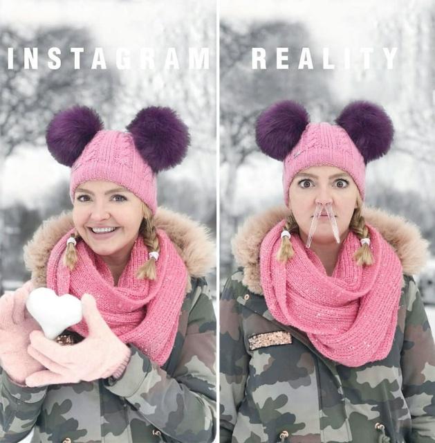 Instagram Vs Reality, part 2