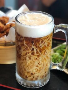 A Japanese Restaurant In Canada Is Serving 'Beer Ramen'