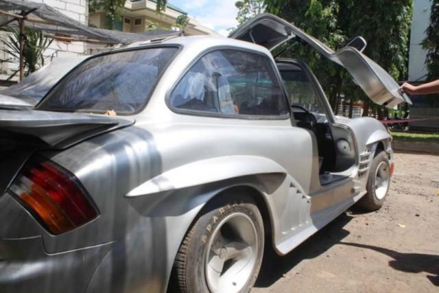DIY Mercedes-Benz 300SL from W114