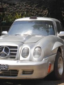 DIY Mercedes-Benz 300SL from W114