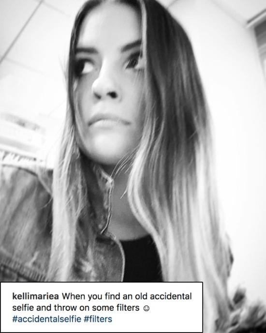 """""""Accidental"""" Selfies"""