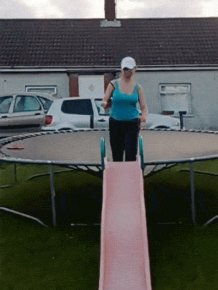 Girls On Trampolines