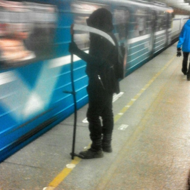 Seen in The Russian Subway