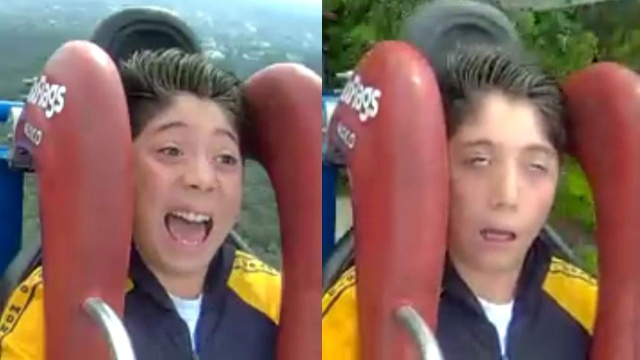Terrified Roller Coaster Riders