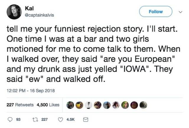 Rejection Stories
