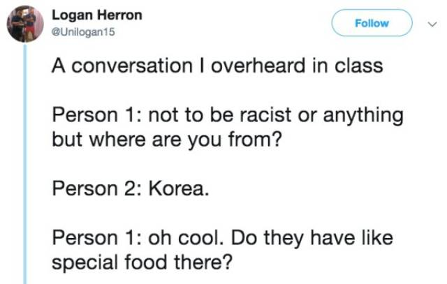 Overheard Conversations