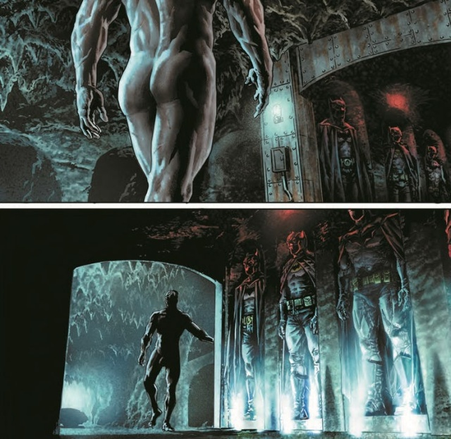 Batman Goes Totally Naked in DC's Mature Comic Line