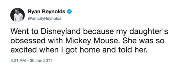 Ryan Reynolds' Funniest Tweets