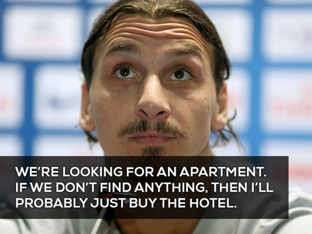 Zlatan Ibrahimovic Sometimes Says Strange Things