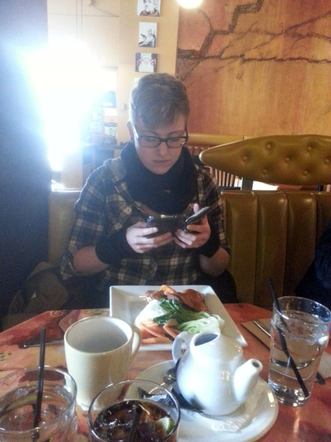 Photos of Hipsters Taking Photos of Food