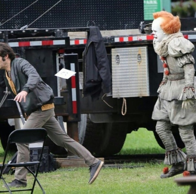 "New Photos From The Set Of ""It 2"", part 2"