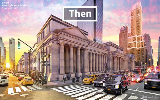 Lost US Historical Buildings