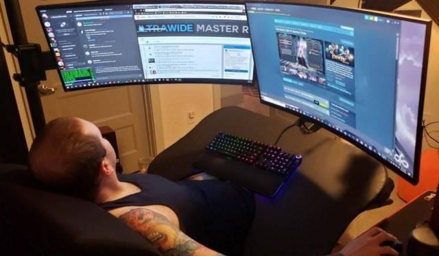 Zero Gravity PC Gaming Station WIP