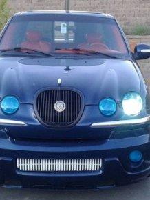 Pickup Made Out Of Jaguar