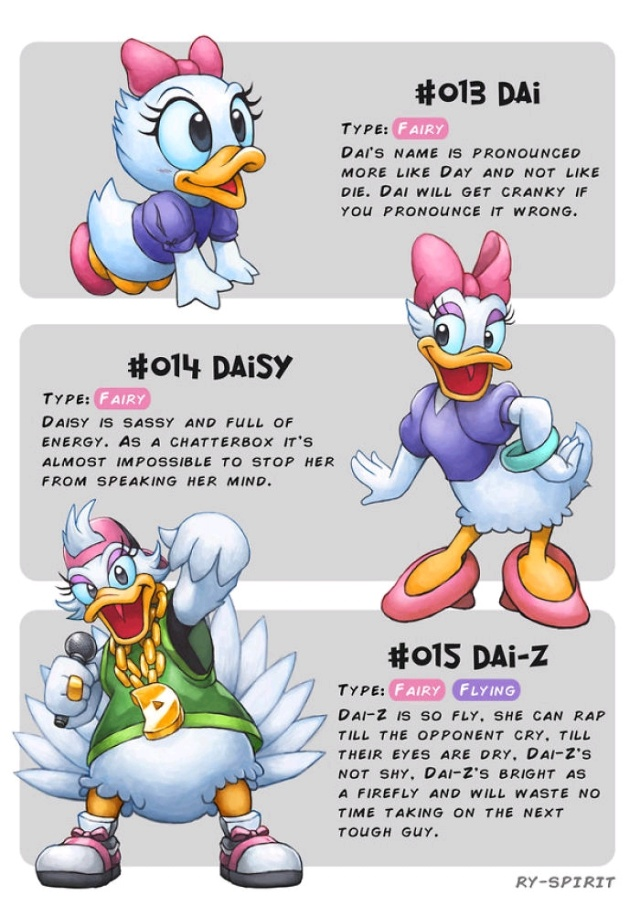 Famous Characters Turned Into Evolving Pokemon