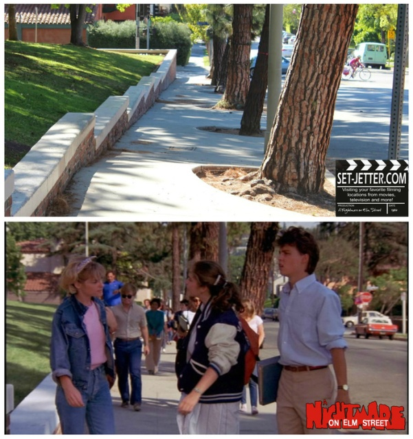 "Visiting The Places Of Filming ""Nightmare on Elm Street"""