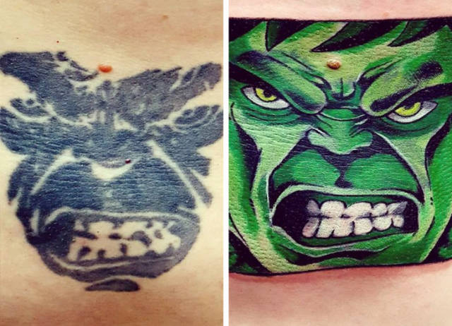 Any Tattoo Can Be Improved