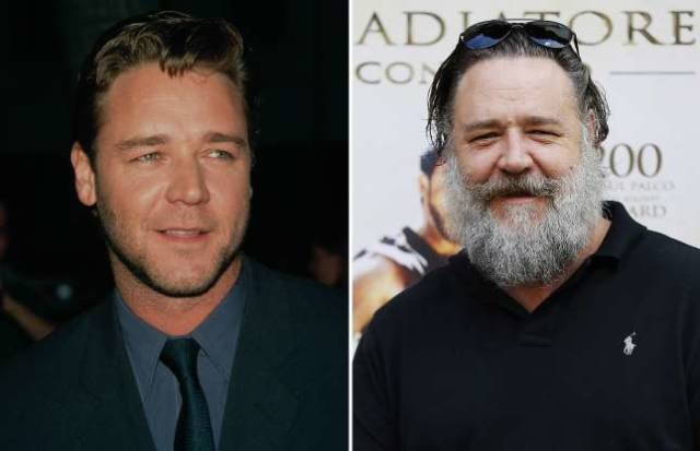 How Famous Actors Age