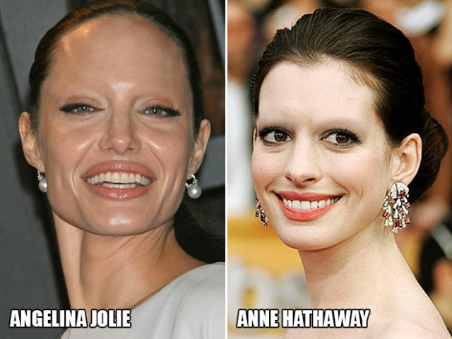 Celebrities Without Eyebrows, part 2