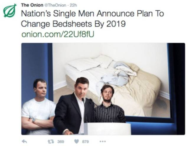 "Hilarious ""The Onion"" Headlines"