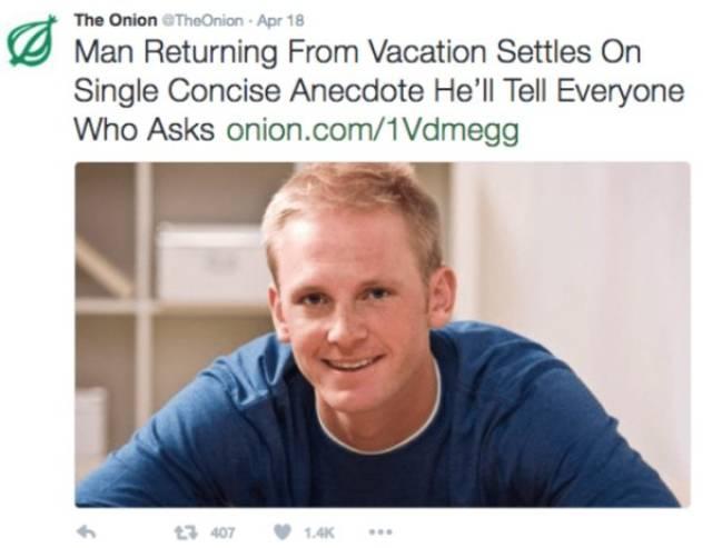 "Hilarious ""The Onion"" Headlines"