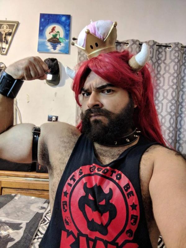 This is The best #Bowsette Cosplay