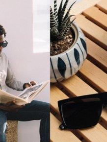 IRL Glasses - Glasses that Block Screens