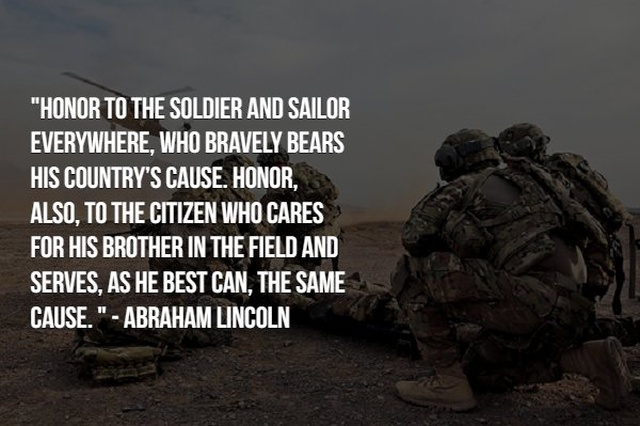 Inspiring Words About Military Service