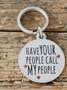 Funny Collar Tags