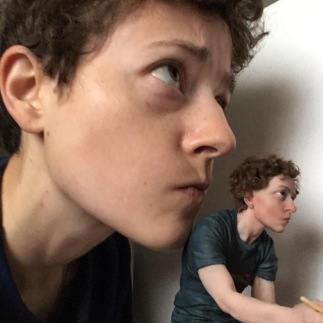 The Coolest Self Portrait Ever