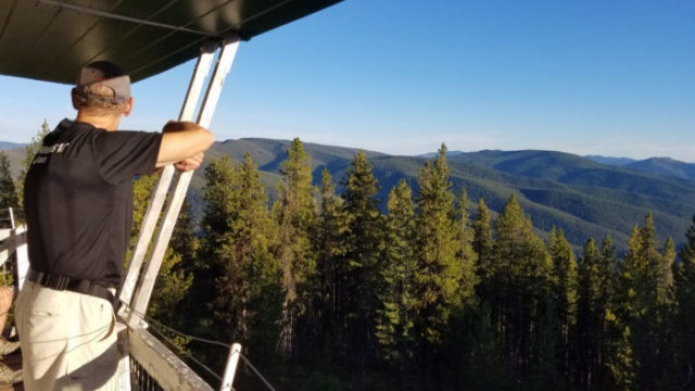 Idaho Seasonal Ranger Observation Post Is A Very Cool Place