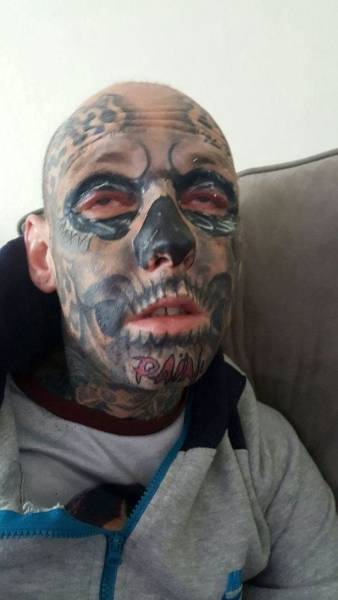 Guy Has Spent $36,000 On Tattoos And Is Not Planning To Stop
