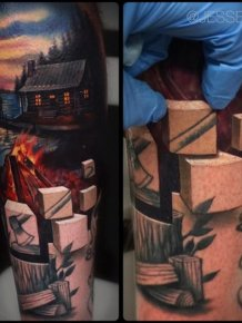 Amazing A World Beneath The Skin Tattoos